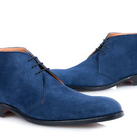 SHOEPASSION.com – Blue Suede Boots