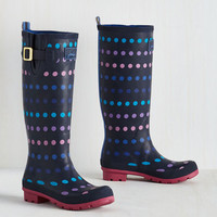 Darling Splash the Time Rain Boot in Dots
