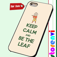 Keep Calm And Be The Leaf Avatar Aang custom case for smartphone case
