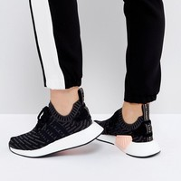 adidas Originals NMD R2 Trainers In Black at asos.com