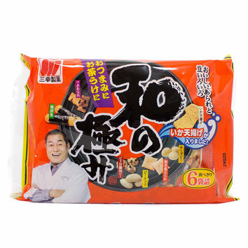 Sanko  Arare Rice Crackers (6 Packs) 4.8 oz. (136g)