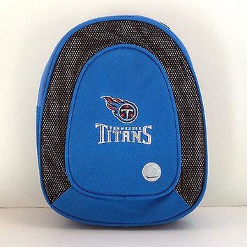 Tennessee Titans Kid's Backpack Official NFL Blue Red for Travel Games Books NWT