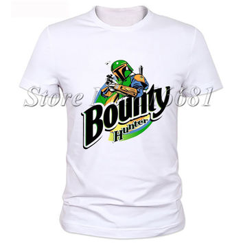 milky silk Star Wars Bounty T Shirt