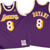 Los Angeles Lakers Kobe Bryant #8 Throwback Away Jersey