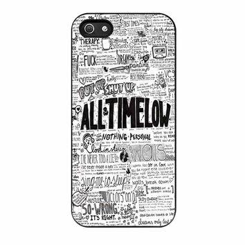 All Time Low Quotes Art iPhone 5s Case