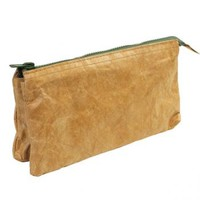 Strapya World : Fly Bag Upper West Tochigi Leather Smartphone Pouch (Brown)