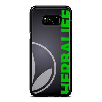 Black Herbalife Samsung Galaxy S8 Case