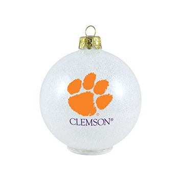 NCAA Clemson Tigers LED Color Changing Ball Ornament
