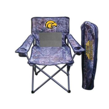"Southern Mississippi Eagles NCAA Ultimate Real Tree"" Camo Adult Tailgate Chair"""