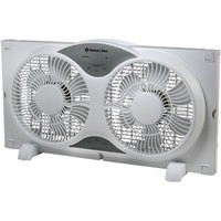 Comfort Zone(R) CZ310R Reversible Twin Window Fan with Remote