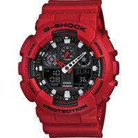 G-Shock Ga100b-4 Watch Red One Size For Men 19553230001