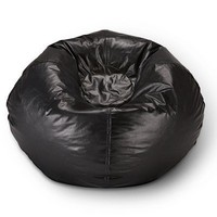 Ace Bayou ABC Life Style Furniture Large Bean Bag, Matte Black