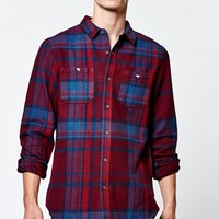 Everest Plaid Long Sleeve Button Up Shirt