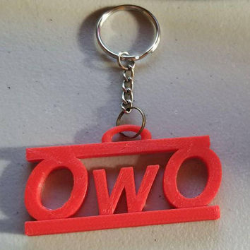 OwO What's this? key chain
