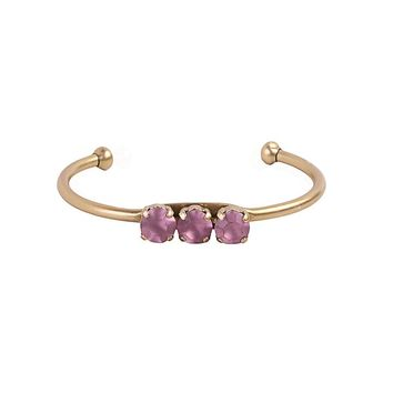 ROSALIE CUFF IN ORCHID