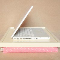 Laptop Lap Desk Or Breakfast Serving Tray - Pink