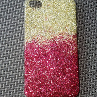 glitter iphone case 4 / 5 ombre phone case iphone 5 case