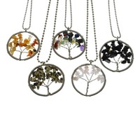 Life of Tree Chains Necklaces