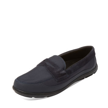 SWIMS Men's George Penny Loafer - Dark Blue/Navy -