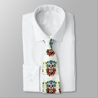 Day of the Dead Men's Tie