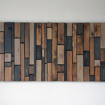Modern Wood Wall Art