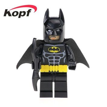 Batman Dark Knight gift Christmas 20Pcs Super Heroes Space Wars The Dark Knight Batman Catman Riddler Movie Bricks Action Building Blocks Toys for children XH 511 AT_71_6