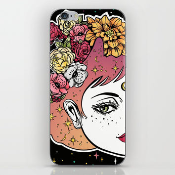 Floral Venus iPhone & iPod Skin by MIKART