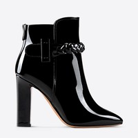 Valentino Online Boutique - Valentino Women Braid Detail Bootie