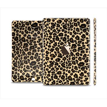 The Small Vector Cheetah Animal Print Full Body Skin Set for the Apple iPad Mini 3