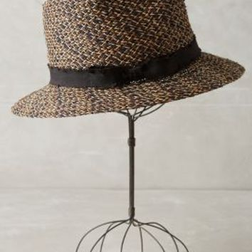 Openweave Fedora by Anthropologie in Black Size: One Size Hats