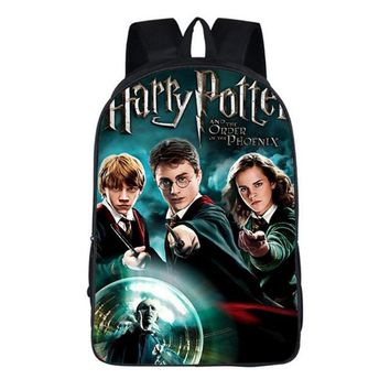 Boys bookbag trendy WISHOT Harry Potter backpack Children School Bags for Boys Girls kids Christmas Gifts  AT_51_3