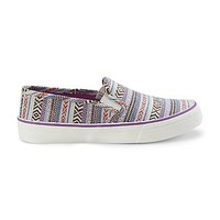 Joe Boxer Women's Reid Purple/Tribal Print Slip-On Shoe - Clothing, Shoes & Jewelry - Shoes - Women's Shoes - Women's Flats