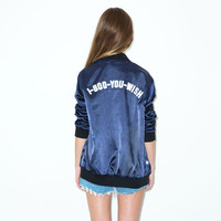 You Wish Satin Reversible Jacket