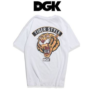 Gotopfashion DGK Woman Men Fashion Tiger Tunic Shirt Top Blouse