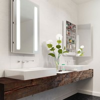 "Ascension Bathroom Mirrored Cabinet - 23-1/4"" W x 30"" H x 4"""