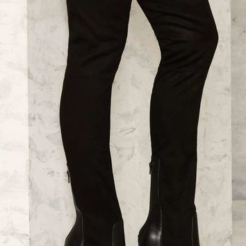 Nasty Gal High Jinks Over-the-Knee Boot