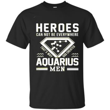 Aquarius Men t shirts for who were born as Aquarius zodiac signs 9905