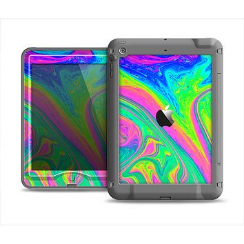 The Neon Color Fushion V3 Apple iPad Air LifeProof Nuud Case Skin Set