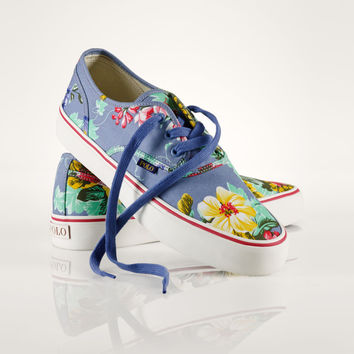HAWAIIAN FLORAL MORRAY SNEAKER