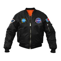 Logic BLACK Space Patch Jacket - Apparel