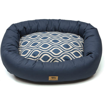 Bumper Groove Dog Bed