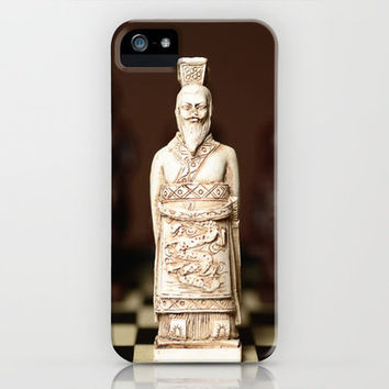 Chinese chess King iPhone Case by Wood-n-Images | Society6