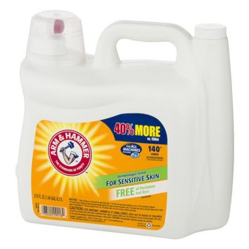 Arm & Hammer Detergent for All Machines For Sensitive Skin, 210 Oz - Walmart.com