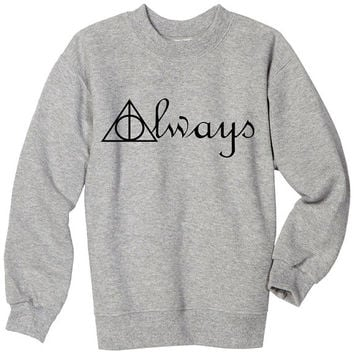 deathly hallows hoodie deathly hallows sweater black and gray