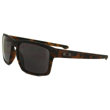 Oakley Sunglasses Sliver OO9262-03 Matt Brown Tortoise Warm Grey