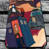 Supernatural Tardis for iPhone 4/4s, iPhone 5/5S/5C/6, Samsung S3/S4/S5 Unique Case *76*