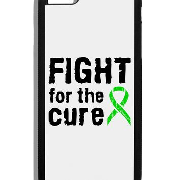 Fight for the Cure - Lime Green Ribbon Lyme Disease Black Dauphin iPhone 6 Plus Cover by TooLoud