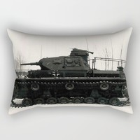 German Tank Panzer IV 1942 Rectangular Pillow by Christine Aka Stine1