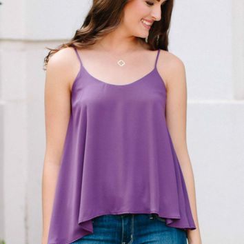 What's Simple Is True Purple Top