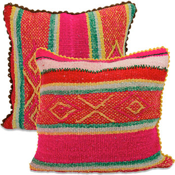 Peruvian Pillow Pair XXI